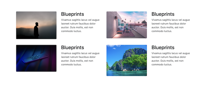 Bootstrap-snippet-thumbnails-grid
