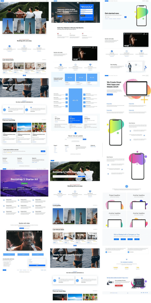 Bootstrap 5 templates